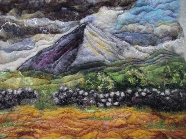 Mt-Errigal in Felt