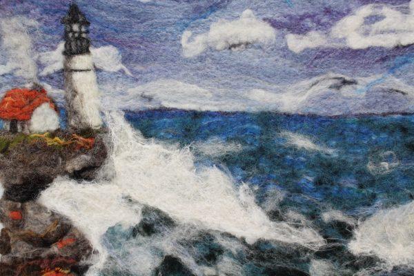Stormy seas felt