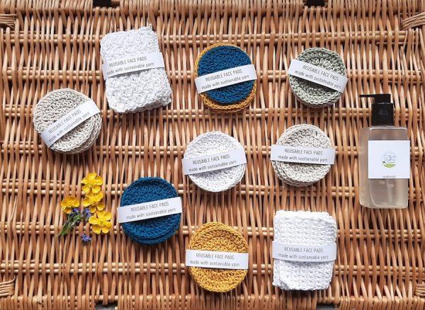 Reusable Crochet Soap Pads