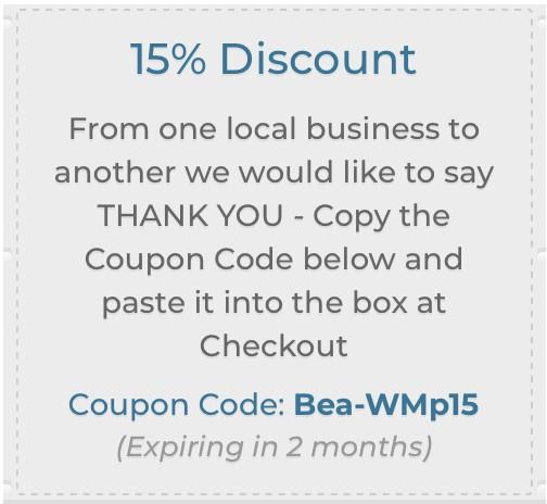 Bea Coupon code Bea-WMp15