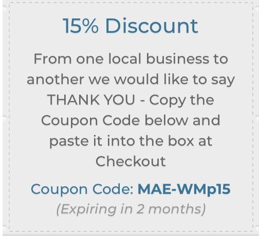 Mae Art Ed Coupon code MAE-WMp15